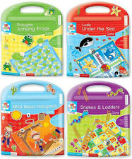 Childrens Magnetic Travel Games Ideal for Car,Plane or Boat Posted FREE 1st Clas
