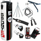 BOOM Pro 5ft Boxing Punch Bags,Bag Gloves,MMA Fitness,Wall Bracket Training Set