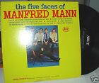 MANFRED MANN, The 5 Faces Of Manfred Mann LP Record