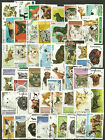 CATS and DOGS Collection Packet of 100 Different WORLD Stamps