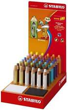 STABILO WOODY 3 in 1 MULTITALENT-FARBSTIFT BUNTSTIFT EINZELSTIFTE u. SPITZER