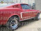 FORD 1968 Fastback & Coupe Mustang GT Side 'C' Stripe