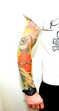TATTOO ÄRMEL ARM Extrem SLEEVES TATOO Stulpen Fake Tätowiert Shirt Überzug NEU