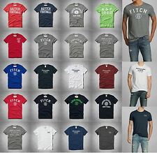 New Abercrombie A&F by Hollister Men WANIKA FALLS TEE Muscle Fit Size Vintage