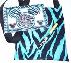 Personalized Disney ZEBRA MICKEY Mouse Autograph Book with Matching Bag & Pen