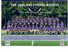 1996 BALTIMORE RAVENS 1ST YEAR TEAM PHOTO FOOTBALL MARYLAND NFL