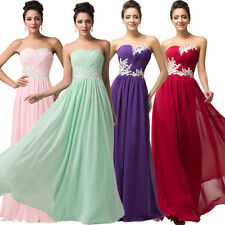 2015 Cheap  Evening Bridesmaid Cocktail Party Graduation Prom Dresses Ball Gown