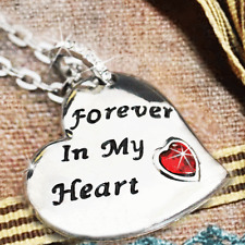 ❤ Forever In My Heart Necklace Best Friend Valentine Xmas Gift For Her Wife Mum