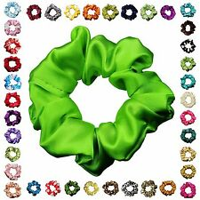 Satin Scrunchie Ponytail Holder Hair Accessories Available in 30+ Colors
