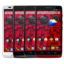 Motorola XT1080 Droid Ultra 16 GB BLACK - RED Verizon Android Smartphone Good B
