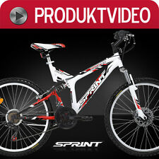 26 ZOLL MOUNTAINBIKE SPRINT PA-26X SCHEIBENBREMSE SHIMANO FULLY MTB FAHRRAD 141