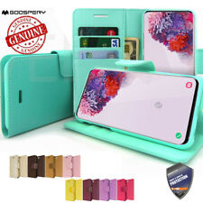 Dual Leather wallet case Card Book Flip Case Cover For APPLE iPhone Samsung LG