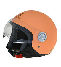 CASCO JET RODEO DRIVE RD104 NEW COLORS GIALLO ARANCIO HELMET CASQUE MOTO SCOOTER