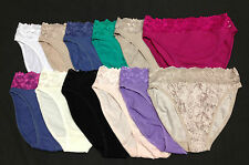 5 Pack Ex M&S Marks & Spencer Ladies Cotton Lace High Legs Briefs Size 8 - 22