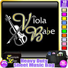 Viola Babe - Sheet Music & Accessories Personalised Bag by MusicaliTee