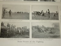 1900 BOER WAR POM POM FIELD HOSPITAL KAFFIRS NATAL ETC