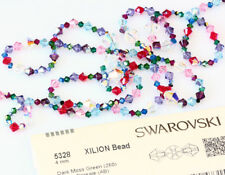 Genuine SWAROVSKI 5328 Crystal Bicone Beads - Many sizes & Colors with Effects