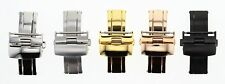 14-16-18-20-22-24MM DEPLOYMENT BUCKLE CLASP FOR LEATHER BAND STRAP TISSOT #2