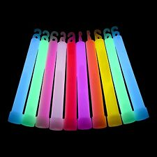 "500x 6"" Inch Glow Sticks Glowtopia - Individually Wrapped, for All Occasions"