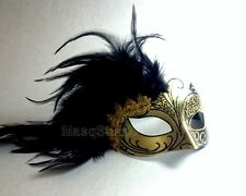 Feather Masquerade mask Costume Surprise birthday bachelor graduation party