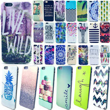 Ultra Thin Soft Rubber TPU Paint Pattern Case Cover For iPhone 4 5 6 6Plus 6S