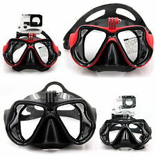 Tauchen Brille f. Gopro Hero 1 2 3 3+ 4 Schnorchel Diving Mask Taucherbrille