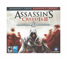 Assassin's Creed I & II: Ultimate Collection Jewel Case (PC, 2011) *new,sealed*