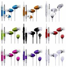 iEAR EARPHONES HEADSET HEADPHONE HANDS EARPIECE MiC fOr LG DoublePlay