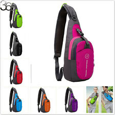 Unisex Sports Running Waterproof Nylon Cross Body Shoulder Belt Chest Bag