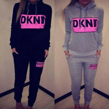 New Womens Casual Sports Sweatshirt +Pants Track & Sweat Suits Tracksuit Outfits