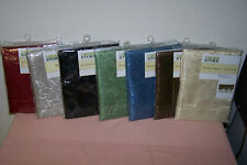 """Window Valance Assortment 60"""" x 19"""" New in Pack You Choose Color (5 Choices) NIP"""