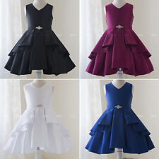 Flower Girl Dresses Wedding Bridesmaid Birthday Graduation Party Formal Recital