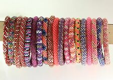Lily and Laura Bracelets Pink & Purple Colors