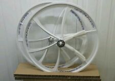 Pair of 700c fixed gear road bike fixie bicycle Magnesium alloy wheels