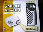 SMOKE ALARM WITH SAFETY LIGHT AND BATTERY INCLUDED - Ei100LWX