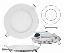 3/6 / 9/12/15 / 18W LED a Incasso Soffitto Downlight Pannello Flat round Ultra Sottile Luce