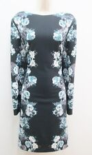 Antonio Melani Levi Black Stillwater Multicolor Floral Work Cocktail Dress New