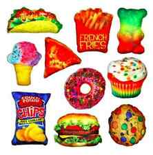 NWT Decorative Food Fight Pillow's 10 Styles FUN GIFT!  FREE SHIPPING!!