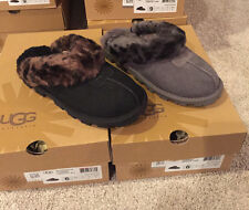 Authentic UGG Australia Coquette Leopard Charcoal & Black Sizes 6-9 New in Box