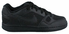 NIKE SON OF FORCE LOW BLACK CASUAL SHOES GS KIDS SZ 4-7 Y  * 615153-021 *