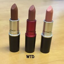 MAC, MATTE, LUSTRE AND SATIN LIPSTICK--LOTS OF COLOURS AVAILABLE
