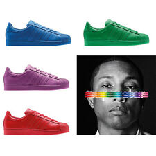 Scarpe uomo donna Superstar Supercolor Pharrell Williams vari colori da 36 a 44