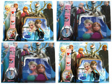 Frozen Disney Princess Girls Anna Elsa Watch Wallet Purse Gift Set Party Bag Toy