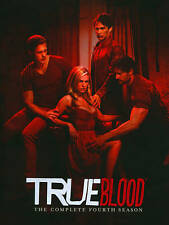 True Blood: The Complete Fourth Season (DVD, 2012, 5-Disc Set) New