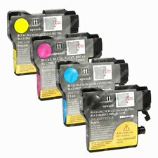 4-PACK Ink Cartridge LC-61 Set for Brother DCP 145C 165c 195C 197C 365CN Printer