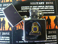 Army Military Regimental Lighter With Wiltshire Regiment On Front