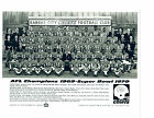 1970 KANSAS CITY CHIEFS  8X10 TEAM PHOTO 1969 AFL CHAMPIONS  FOOTBALL NFL