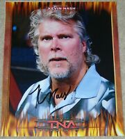 TNA SIGNED PHOTO KEVIN NASH RETRO WRESTLING PROMO & PROOF WWE WWF DIESEL NWO