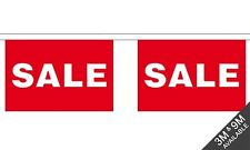 Sale Shop Advertising Sign Material Flag Flags Bunting Various Sizes 3m 9m Giant