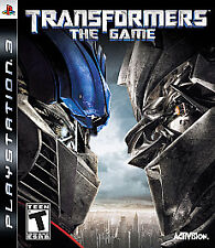 Transformers: The Game  (Playstation 3) COMPLETE w case & manual fast shipping
